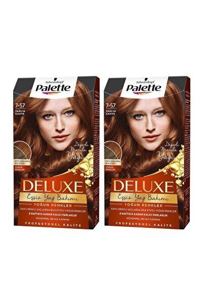 PALETTE DELUXE Yoğun Renkler 7-57 Tarçın Kahve X 2 Adet