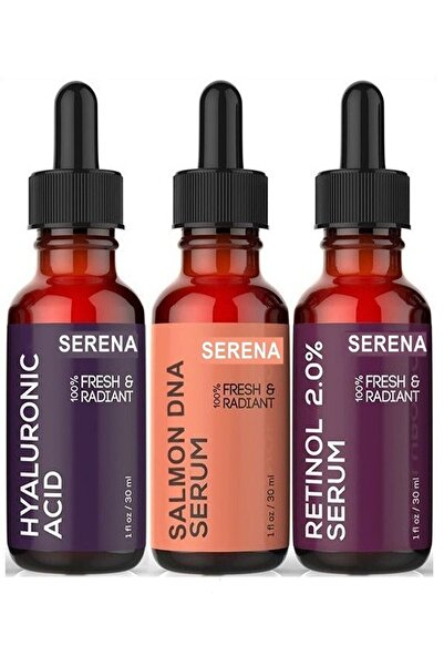 Serena Somon Dna + Hyaluronic Acid + Retinol Set