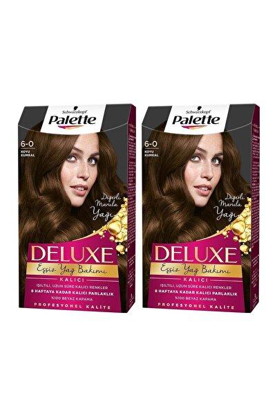PALETTE DELUXE Deluxe 6-0 Koyu Kumral  X 2 Adet
