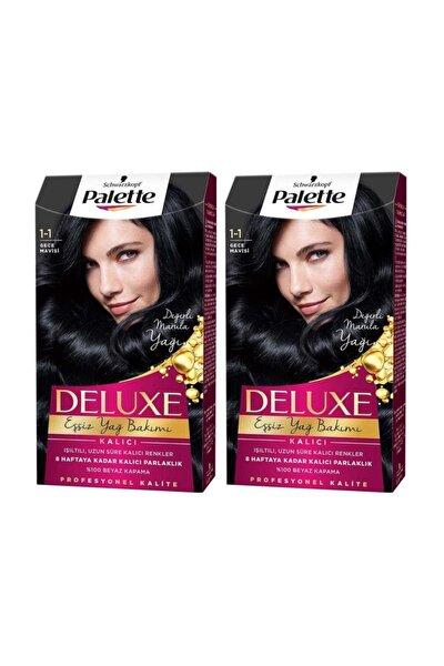 PALETTE DELUXE Deluxe 1-1 Gece Mavisi X 2 Adet