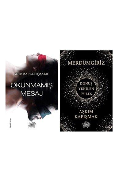 Nemesis Kitap Aşkım Kapışmak 2 Kitap Set / Okunmamış Mesaj + Merdümgiriz: Dönüş - Yenilen - Iyileş