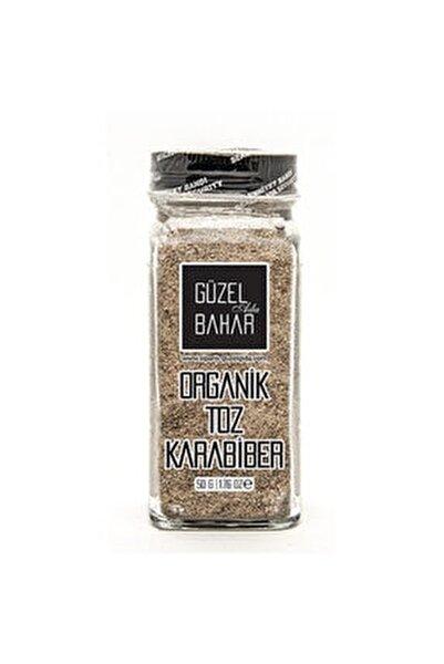 Organik Toz Karabiber 60 gr(Tuzluklu)