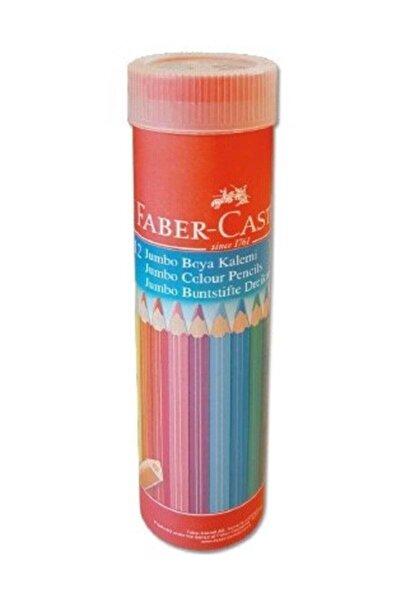Faber Castell Faber Boya Kalemi 12 Renk.üçgen Jumbo T.by Yl 116615 /