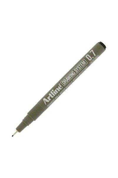 artline Artlıne 0.7 Mm Siyah Çizim Kalemi