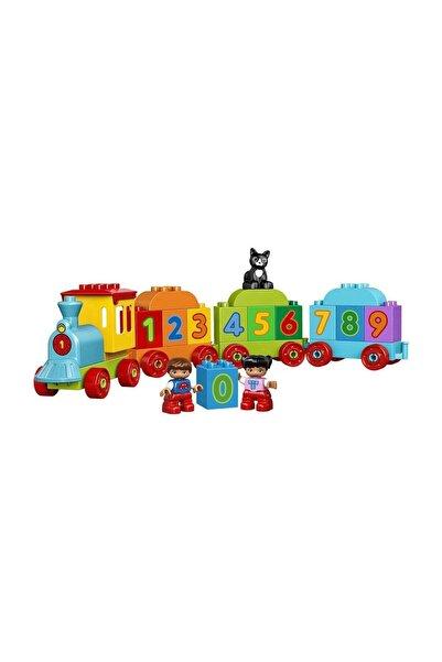 LEGO ® Duplo 10847 Sayı Treni Okul Öncesi Çocuk Için Öğretici Oyuncak Yapım Seti
