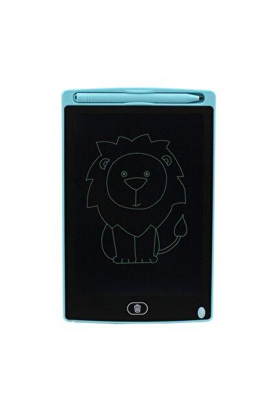 """NOUT Lcd Yazı Tahtası Writing Tablet 8,5 """" Mıknatıslı TURKUAZ Boyama, Çizim, Alıştırma, Hesap, Grafiti"""