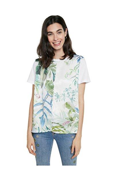 Desigual T-shirt, M, Beyaz