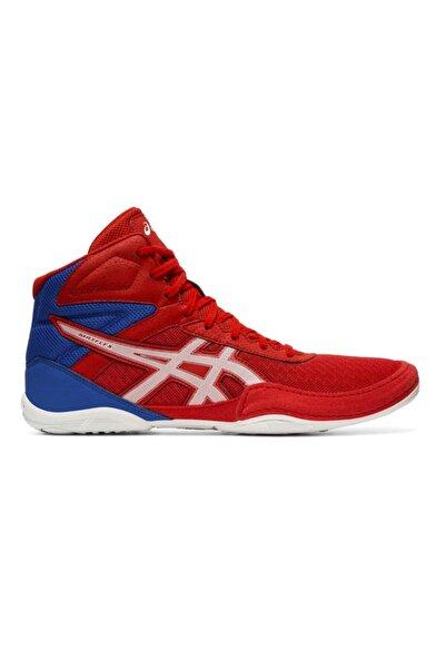 Asics Erkek Kırmızı Beyaz Güreş Ayakkabısı