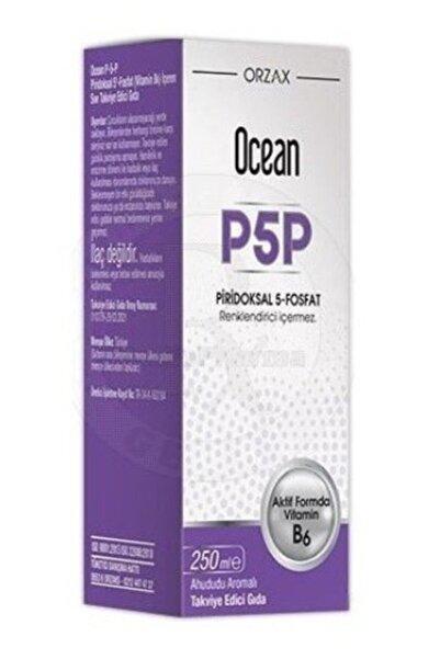 Ocean Orzax Ocean P5P Piridoksall 5-Fosfat Sıvı Takviye Edici Gıda 250 ml