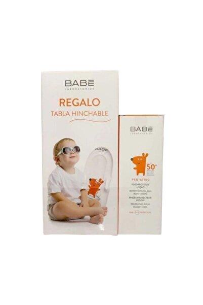 Babe Pediatrik Güneş Koruyucu Spf50 Losyon Krem 100 Ml + Şişme Bot Hediyeli