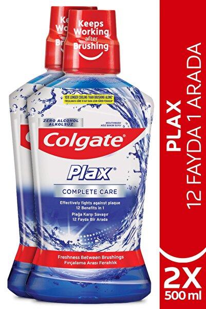 Colgate Plax Complete Care 12 Fayda 1 Arada Alkolsüz Ağız Bakım Suyu 2 X 500 ml