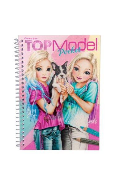 Top Model 3D Küçük Boy Boyama Kitabı 7857 U237804