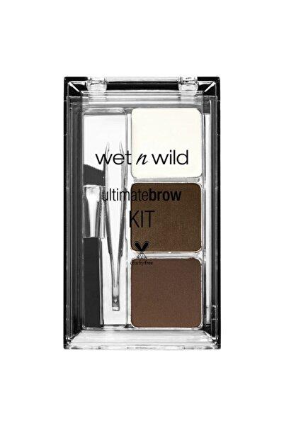 WET N WİLD Ultimate Brow Kit Kaş Seti - Ash Brown