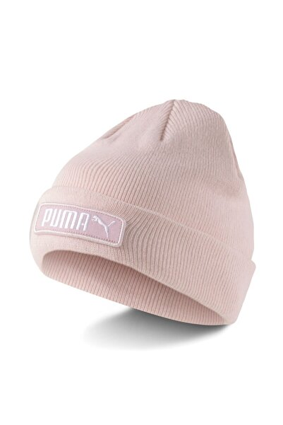 Puma Classic Cuff Beanie Unisex Pembe Bere - 02343403