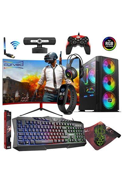 """Zeiron Fx50 I5-3470 16gb 1tb + 240gb 4gb 23.8"""" Oyuncu Bilgisayarı"""