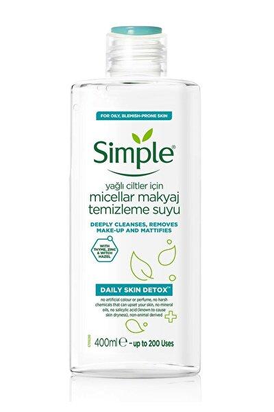 Simple Daıly Skın Detox Makyaj Temizleme Suyu 400 ml