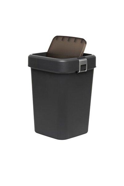 Motek Comfort Dust Bin Çöp Kovası (ANTRASİT) - 18 Lt