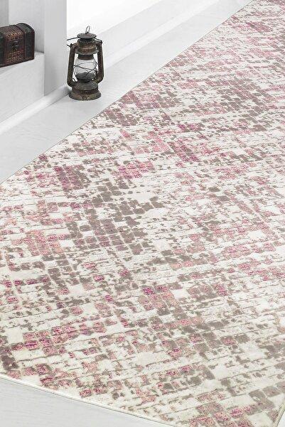 nevbaharhome Mozaik Pudra Desen Kaymaz Jel Taban Yıkanabilir Kesme Yolluk Salon Banyo Koridor Mutfak Halısı