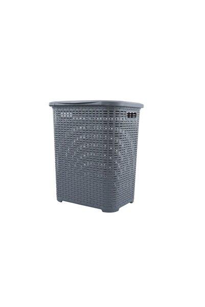 Tuffex Rattan Küçük Kirli Sepeti - Çamaşır Sepeti - Plastik Sepet