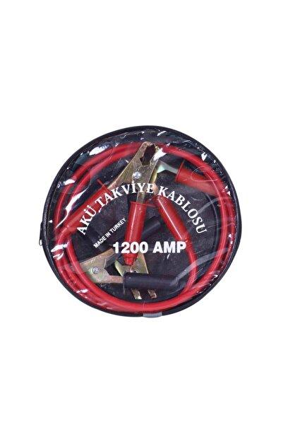 Aksr Dünyası Çantalı Akü Takviye Kablosu 1200 Amper 2 Metre
