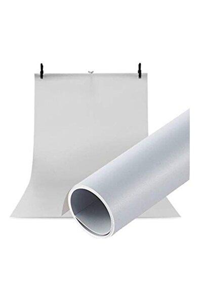 Hdg Ürün Çekim Fotoğraf Fonu Beyaz Plastik Stüdyo Çekim Fonu 70x100 Cm - Özel Karton Tüp Ruloda