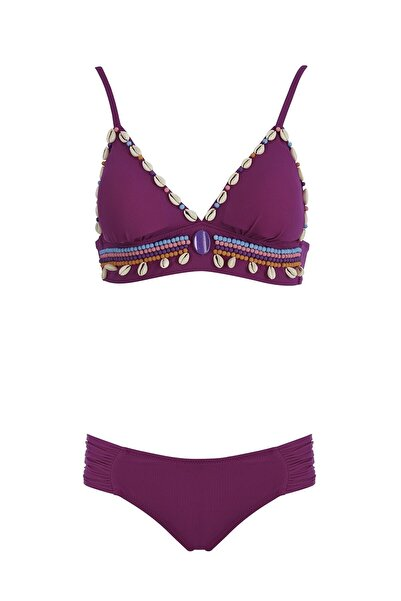 SAILOR swimwear Deniz Kabuklu Üçgen Bikini Takım