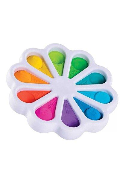 Simple Pop It Push Bubble Stres Çarklı Özel Dimple Eğitici Oyuncak