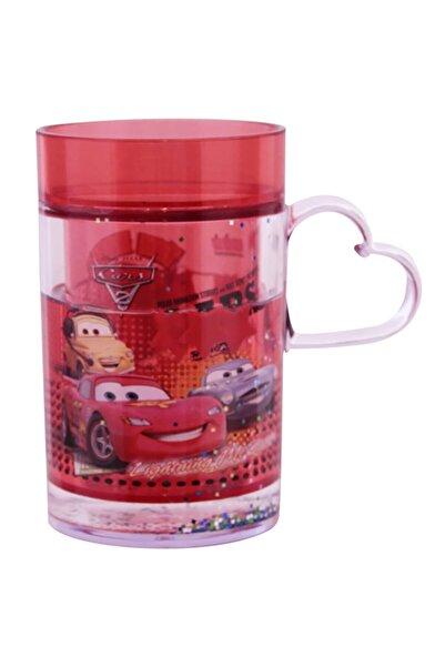 CARS Plastik Sulu Bardak Kırmızı