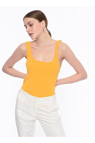 İpekyol Ipekyol Kadın T-shirt - Turuncu