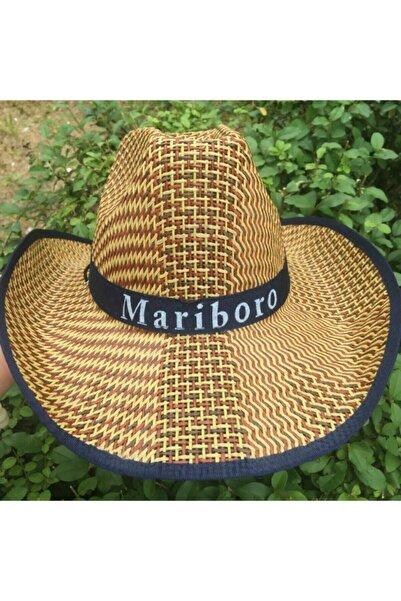 Pandoli Hasır Kovboy Şapkası