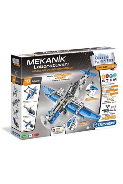 CLEMENTONI Mekanik Laboratuvarı Uçaklar & Helikopterler