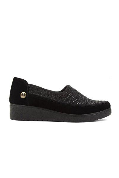 Pierre Cardin Pc-51235 Kadın Ayakkabı Süet Siyah