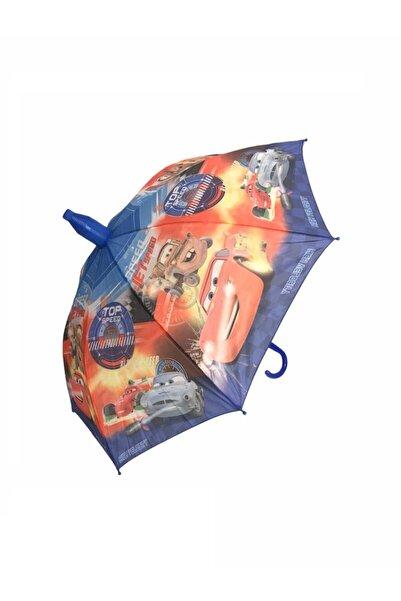 Mom & Kids Erkek Çocuk Lisanslı Arabalar Şemsiye