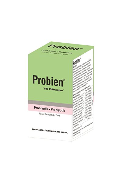 Probien Probiyotik Prebiyotik 30 Kapsül