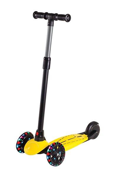 Furkan Toys Dragon Sarı Led Işıklı Scooter