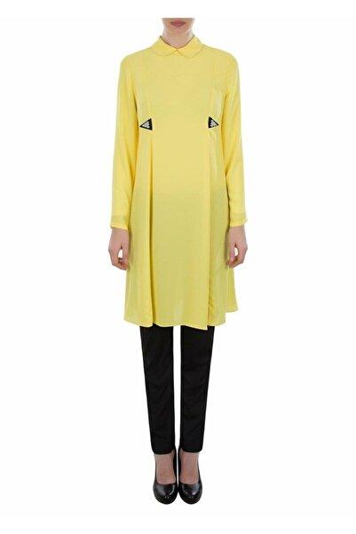 Aker Kadın Sarı Tunik