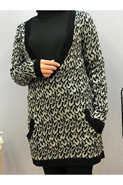Perlina Kadın Desenli Tunik