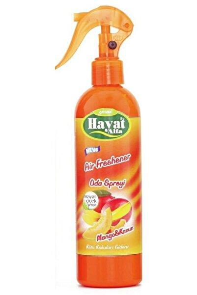 Hayat Mango Ve Kavun, Oda Kokusu Spreyi Parfümü, 350 Ml