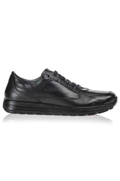 Scooter Su Geçirmez Deri Siyah Erkek Günlük Ayakkabı M5661DS 44