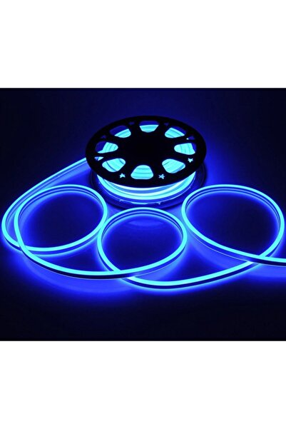 euroneon Neon Hortum Led 1mt Mavi Dekoratif Işıklandırma