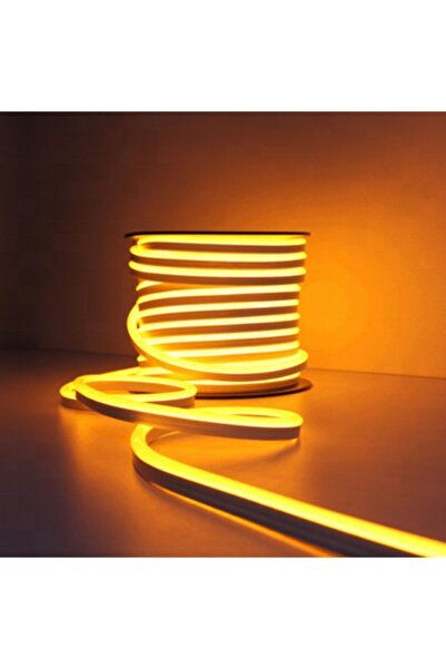 euroneon Neon Hortum Led 1mt Amber Dekoratif Aydınlatma