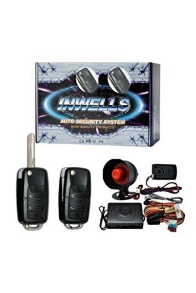 Inwells 12 V Oto Alarm Sistemi Sustalı Kumandalı