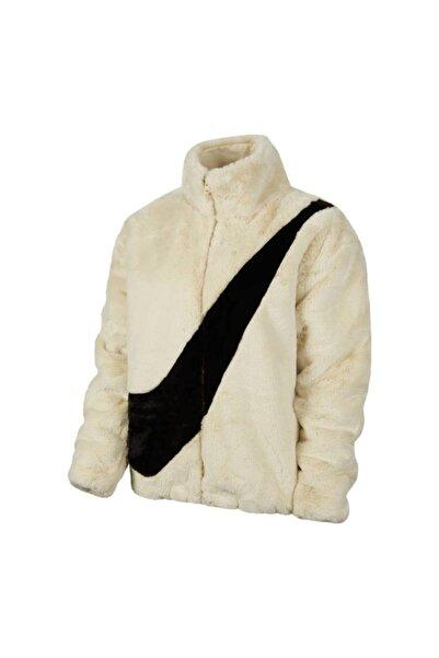 Nike Sportswear Jacket Faux Fur Kadın Mont Cu6558-238