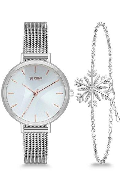 Luis Polo Kadın Kol Saati Kombin Şık Trend Bayan Rose P1173k
