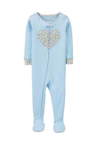 Carter's Kız Bebek Tekli Pijama Tulum