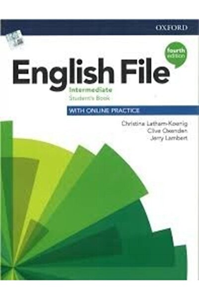 Oxford English File Intermediate Student's Book + Workbook + Cd 4th Ed.
