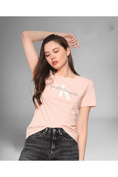 Calvin Klein Ck Logo Slim Fit Tshirt