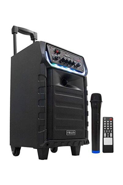 Mikado Md-81kp Siyah Usb + Fm Destekli Bluetooth Kablosuz Mikrofonlu Öğretmen/toplantı Anfisi