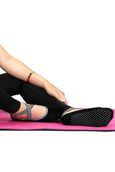 Bolero Siyah Pilates Yoga Bale Ve Dans Çorabı