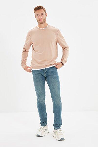 TRENDYOL MAN Indigo Erkek Skinny Fit Jeans TMNAW22JE0311